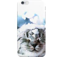 Snow Cat  iPhone Case/Skin