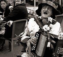 Old street performer   by JudyBJ
