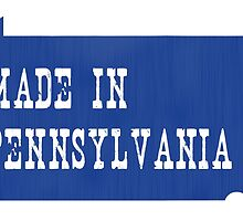 Made in Pennsylvania by surgedesigns