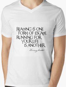 Lemony Snicket Quote Mens V-Neck T-Shirt