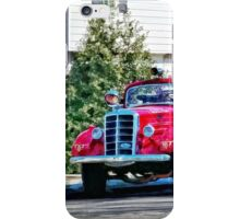 Old Fashioned Fire Truck iPhone Case/Skin