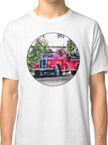 Old Fashioned Fire Truck Classic T-Shirt