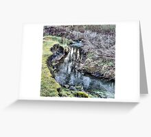 The little river Greeting Card