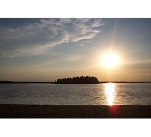 Canada Sunset Photographic Print