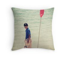 Just another day. Throw Pillow