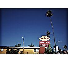 Saharan Motor Hotel Photographic Print