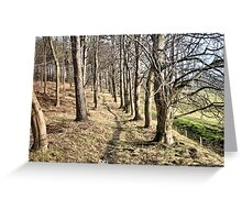 Way through the woods Greeting Card