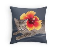 Can I Stop Now? Throw Pillow