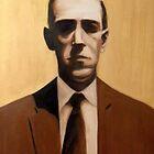 HP Lovecraft by Conrad Stryker