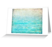 Sandy Blue Shores Greeting Card