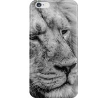 Face Of Thought iPhone Case/Skin