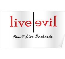 Don't Live Backwards Poster