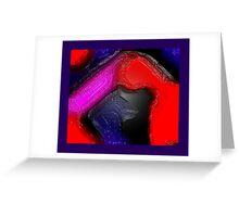 Broken Blush Greeting Card