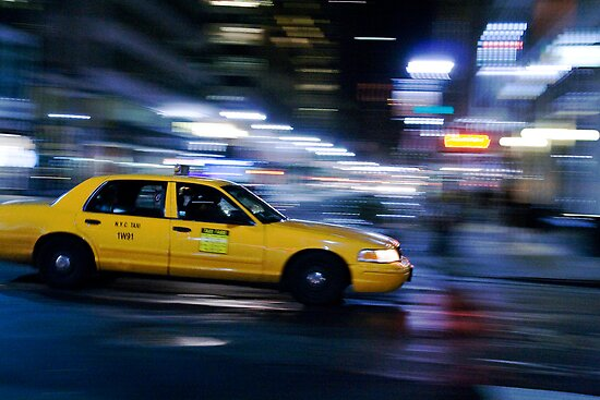 NYC Taxi 1W91 by JessDismont