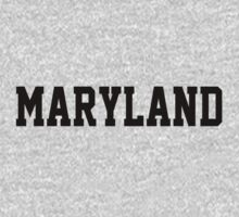 Maryland Jersey Black Kids Clothes