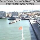 Queen Victoria in Melbourne by dummy