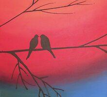 love birds of romance rainbow edition by wrightsonarts