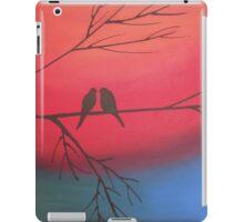 love birds of romance rainbow edition iPad Case/Skin