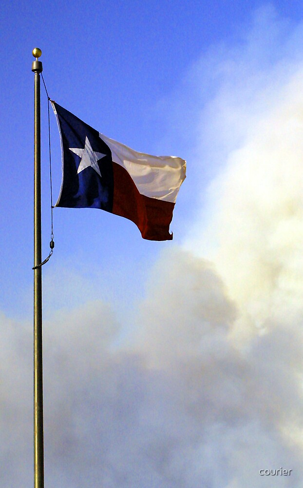 Texas up in smoke by courier