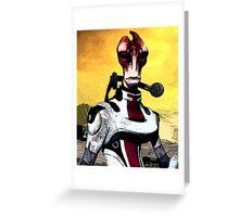 Mordin Mass Effect - Portrait Nerdy Greeting Card