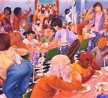 Dinner At The Salvo's by Karsten Stier
