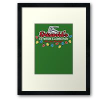 Griswold's Exterior Illumination Framed Print
