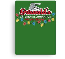 Griswold's Exterior Illumination Canvas Print