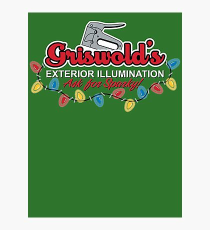 Griswold's Exterior Illumination Photographic Print