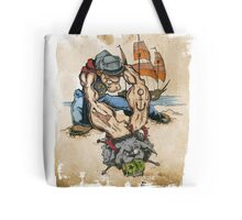 Popeye and His Spinach Tote Bag