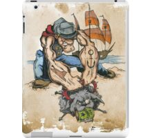 Popeye and His Spinach iPad Case/Skin