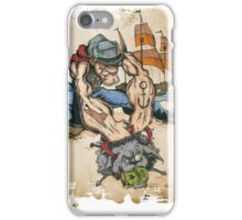Popeye and His Spinach iPhone Case/Skin