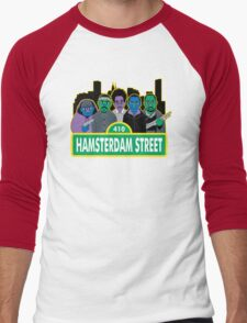 Hamsterdam Street Men's Baseball ¾ T-Shirt