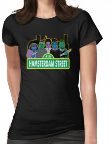 Hamsterdam Street Womens Fitted T-Shirt