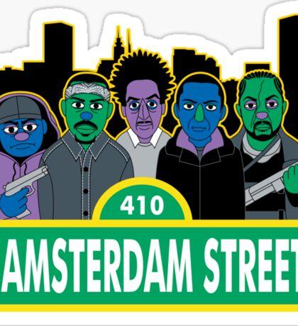 Hamsterdam Street Sticker