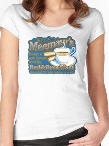 Meemaw's Bed & Breakfast Women's Fitted Scoop T-Shirt