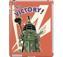 Daleks to the Victory - Doctor Who iPad Case/Skin