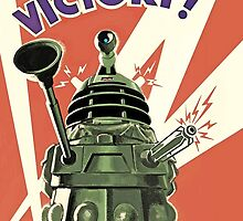 Daleks to the Victory - Doctor Who by peetamark