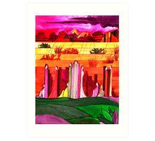 Rock Spirits 1 Art Print