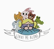 Leave Me Alone: Bubbles T-Shirt
