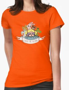 Leave Me Alone: Bubbles Womens Fitted T-Shirt