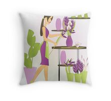 Special Arrangements-Amethyst Throw Pillow