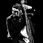Jazz Bassist by Grobie