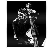 Jazz Bassist Poster