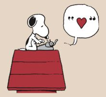 Snoopy in Love by Nikaios