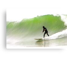 Surfin' the Big One Canvas Print