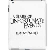 A Series of Unfortunate Events iPad Case/Skin