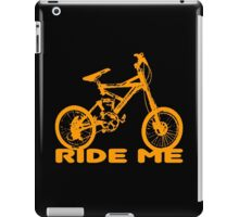 bike-ride me too. iPad Case/Skin