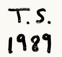 T. S. 1989 by ScienceFaithRB