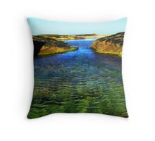 Lagoon Throw Pillow