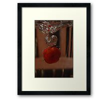 Berry takes a Dive #3 (final!) Framed Print